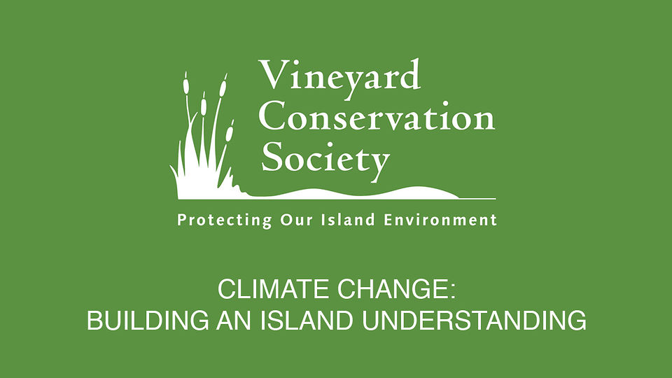 climate change on marthas vineyard